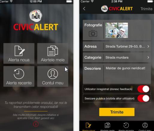 Civic Alert – sau cum sa facem reclamatii… de la distanta
