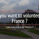 Voluntariat in Franta, 1 an